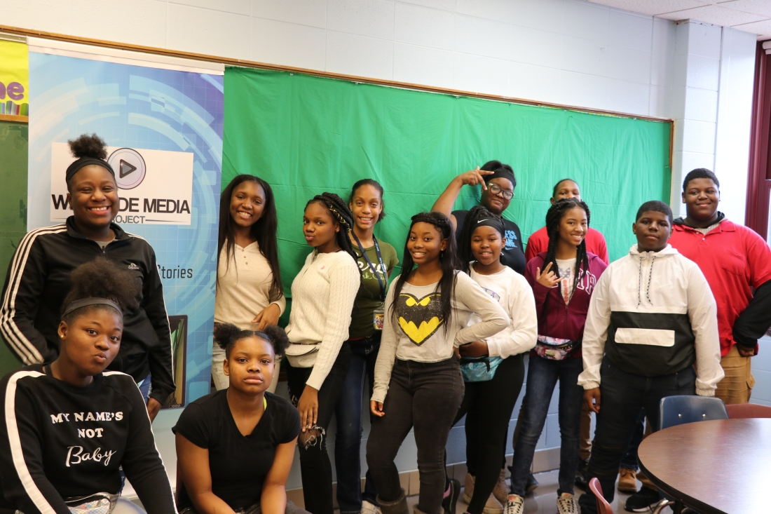 The #2018 8th grade class at Webster School